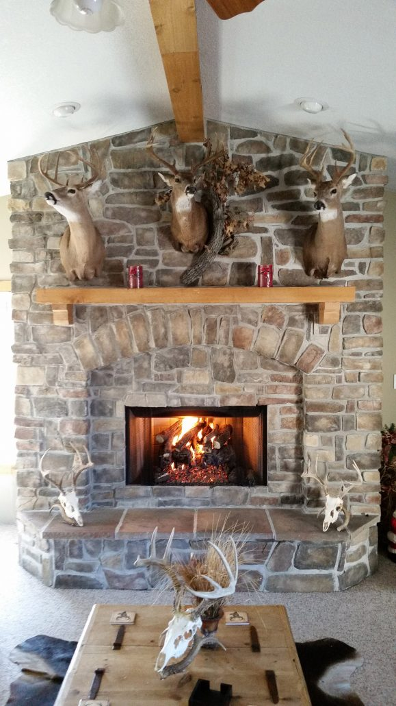 wallace stone gas fireplace